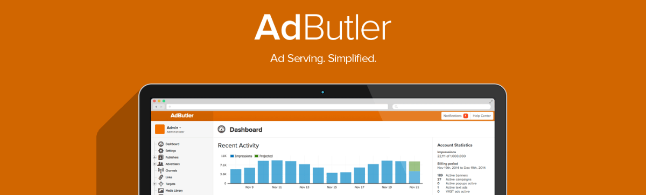 Adbutler - website advertising management